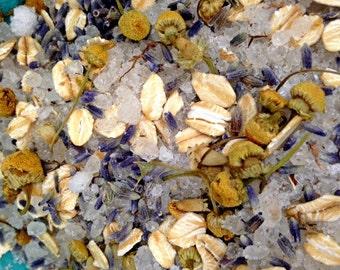 Bath Tea- Bath Soak- Bath Tea Bags- Herbal Bath Tea- Essential Oil- Lavender Chamomile