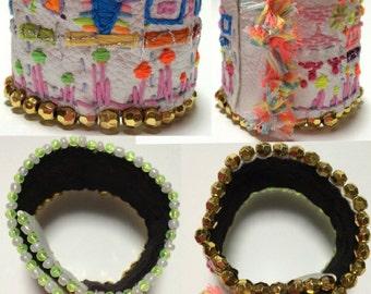 Fancy future city bracelet