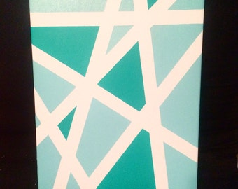 Tape Art Canvas