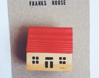 Frank's House Brooch