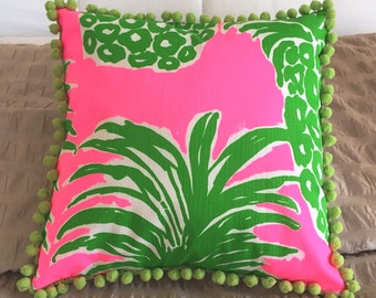 Flamenco Inspired Pillow Cover