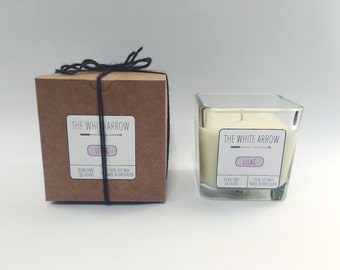 10 oz Lilac Soy Candle