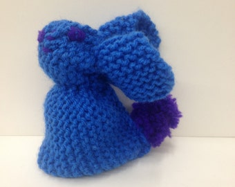 Knitted Stuffed Bunny (Large Size)