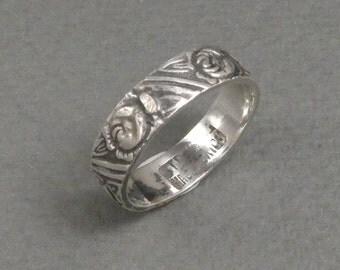 Antique Mexican sterling ring- size 6