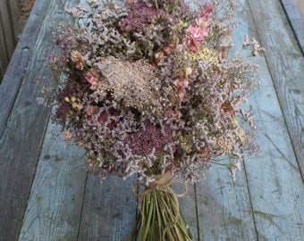 Summer Haze Dried Flower Bouquet