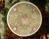 Shamanic drum with custom artwork