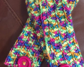 Multi- colored Arm Warmers