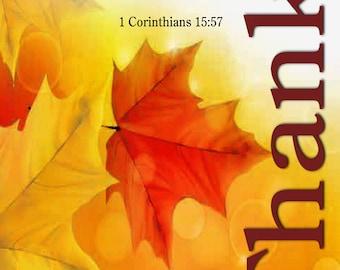 Thankful / Yard Banner (G5015-1)