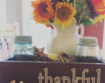 Stringart- thankful table box/caddy