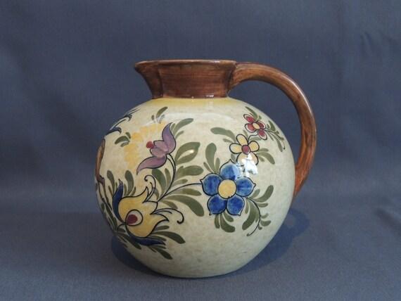 villeroy boch jug vase styria great item around 1900. Black Bedroom Furniture Sets. Home Design Ideas