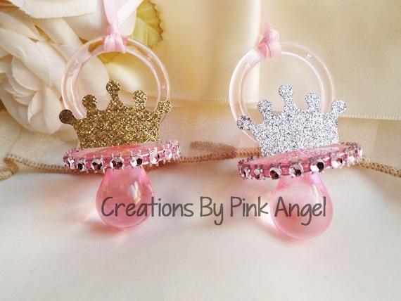 12 little princess baby shower favors royal princess pacifier favors