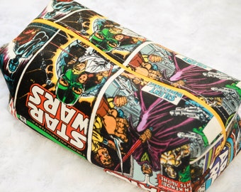 Star Wars Zippered Makeup Bag, Toiletry Bag, Pencil Pouch