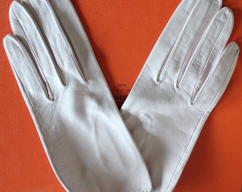 Vintage gloves HERMES excellent  condition