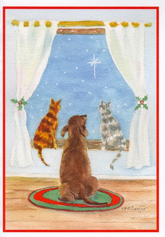 Animal Shelter Christmas Cards