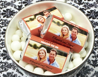 Personalized Full Color Photo Hershey's Mini Chocolates - Pack of 100