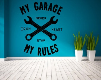 My garage my rules Etsy