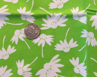 Green and White Fat Quarter