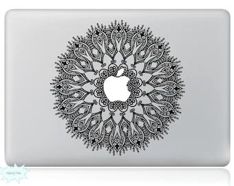 Happy Flower Decal Mac Stickers Macbook Decals Macbook Stickers Apple Decal Mac Decal Stickers Laptop Decal