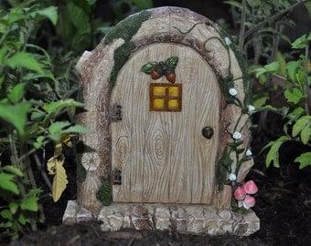 Fairy Door Enchanted Garden Vines Flowers