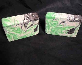 Green Irish Tweed Cold Process Soap Bar