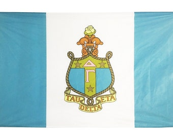 Delta Gamma Flag -  3' X 5'  Officially Approved