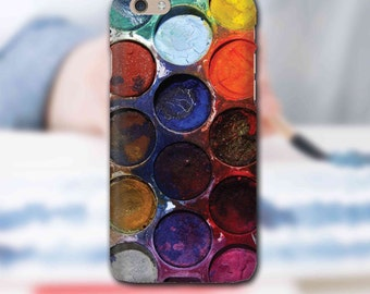 Snap Phone Case Cover for Apple iPhone 6 Brights Water Colour iPersonalised