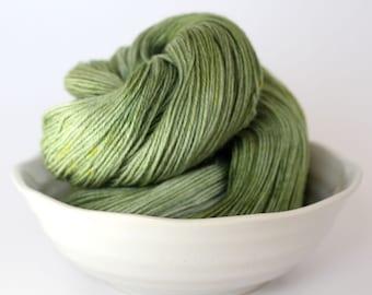 Forest Fern - Hand Dyed Sock Yarn - 85/15 Merino Nylon Sock Yarn