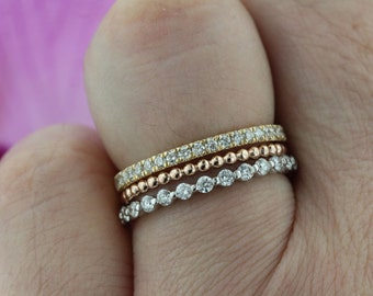 Mix And Match Bands Set Of Three WG Bubble Floating