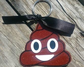 """3"""" Emoji Poo Keychain"""