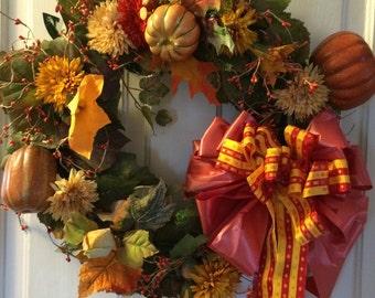 Pumpkin patch Wreath!