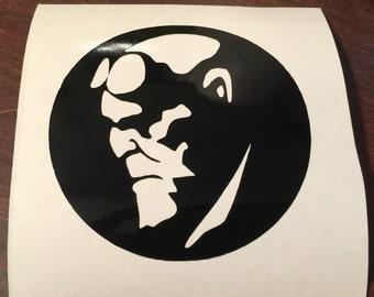 Hellboy decal - sticker