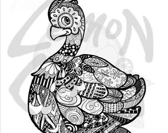Patterned Turkeys Activity