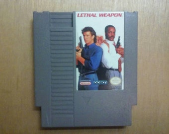 Lethal Weapon Nintendo Nes Game