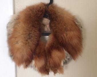 Red Fox Fur collar