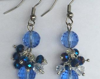 """Lagoon"" Earrings from beads Swarovski, Swarovski"