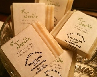 85% Organic Vegan Fir Needle Soap of the South