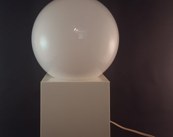 Groovy White Table Lamp