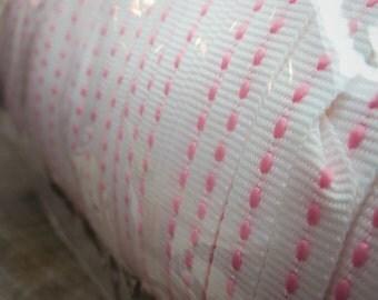 300 Yards Pink Dash Ribbons ~1 pieces #100967
