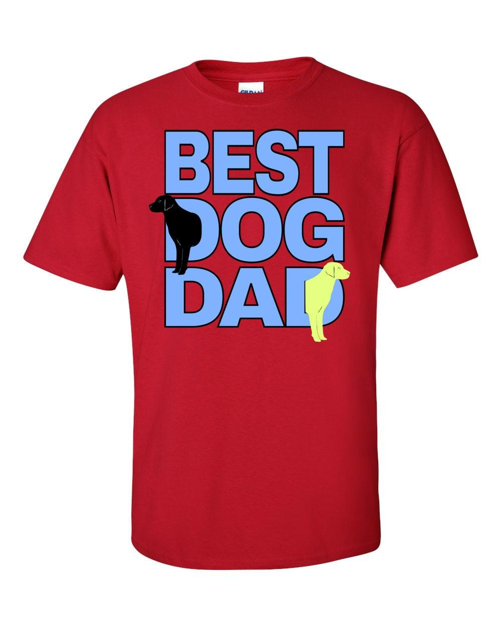 Best Dog Dad T-shirt