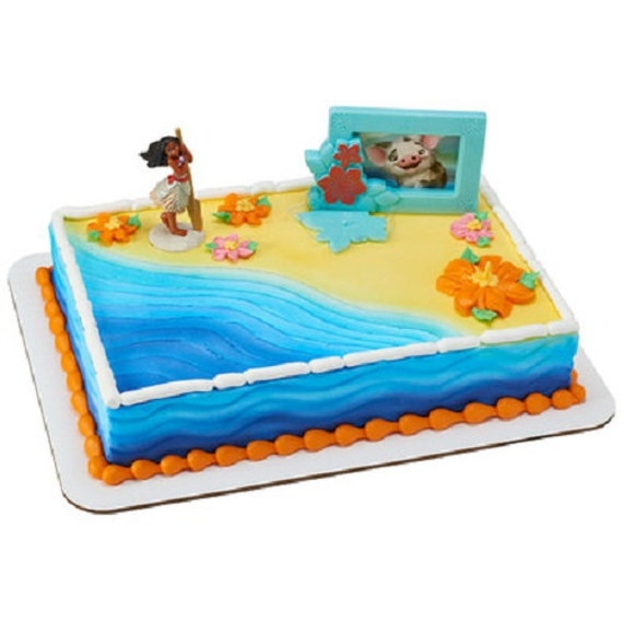 Moana Cake Decoration Adventures In Oceania Topper