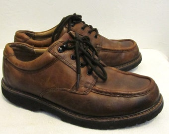 Men's,Vintage 90's,ChUNKY Brown Colored CASUALS By DOCKERS.9M