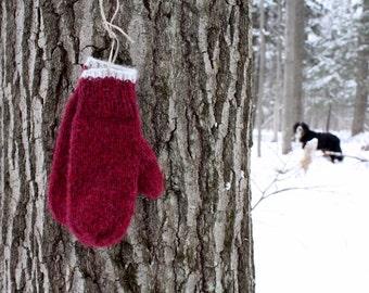 Softest mittens, Alpaca and Merino blend