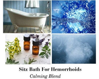 Sitz Bath For Hemorrhoids, Sitz Bath For Piles, Natural Hemorrhoid Treatment for Home