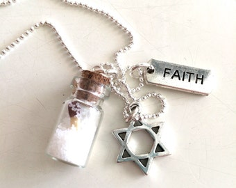 Be a salt, keep the fire, have faith and pray for Israel!