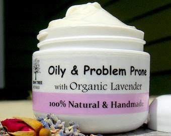Oily/Problem prone Face moisturizer/ Oily Skin cream - Oily complexion (2oz)