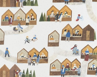 Christmas Market - Christmas wrapping paper