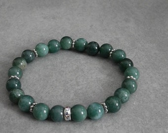 Unique bracelet semi-precious stones