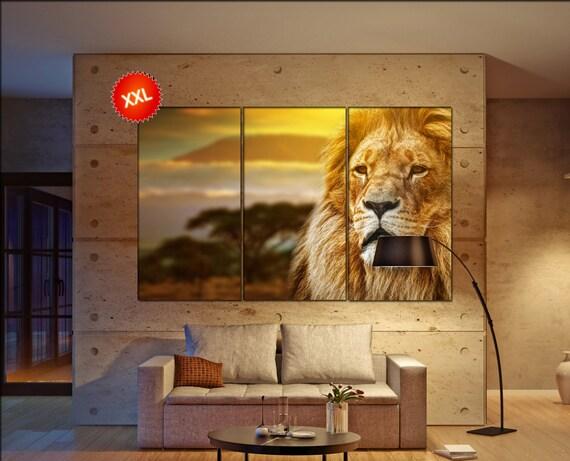 lion  canvas wall art lion wall decoration lion canvas wall art art lion large canvas wall art  wall decor