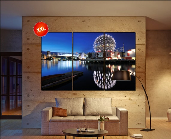 Vancouver  canvas wall art Vancouver wall decoration Vancouver canvas wall art art Vancouver large canvas wall art  wall decor