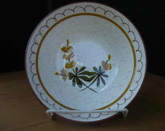 Stangl Bowl Golden Blossom